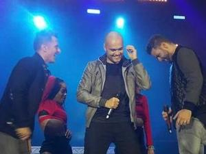 5ive performing on their 2014 October Tour