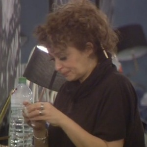 Celebrity Big Brother - Nadia Sawalha gets upset after putting photos of her family on the wall - 29 January 2015.