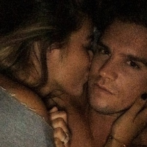 Gary Beadle with girlfriend Lillie Lexie Gregg 16 December