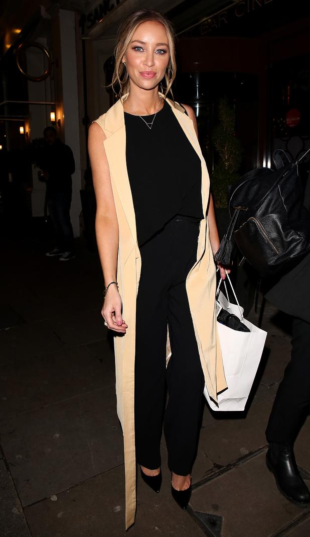 TOWIE's Lauren Pope leaves The Sanctum Soho Hotel in London - 28 January 2015