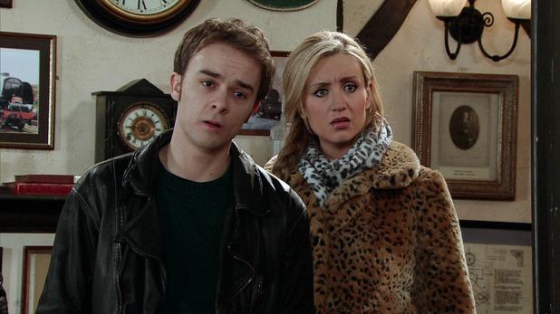 Corrie, David and Eva confront Callum, Mon 2 Feb