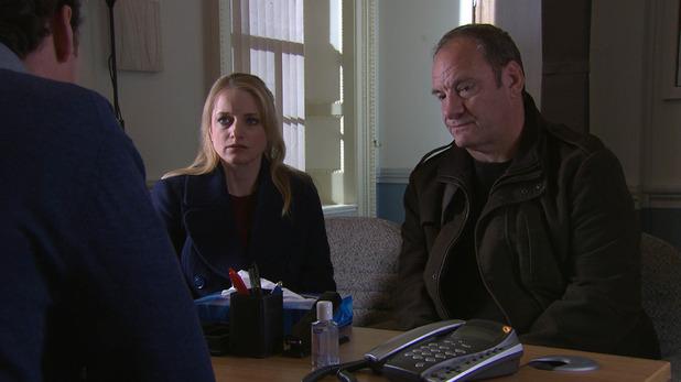 Emmerdale, bad news for Nicola, Tue 27 Jan