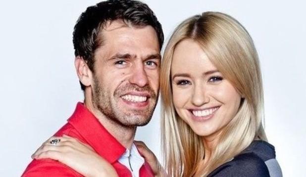 Emmerdale's Sammy Winward and Kelvin Fletcher - ITV - 2014.