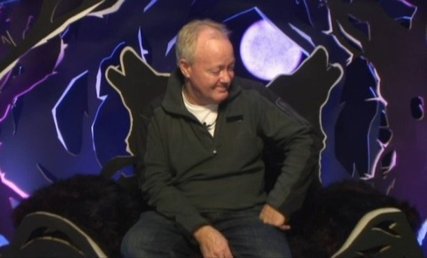Keith Chegwin cries in the CBB diary room after nominations - 29 Jan 2015