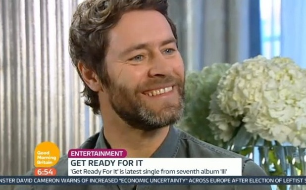 Take That appear on Good Morning Britain, 23 January 2015