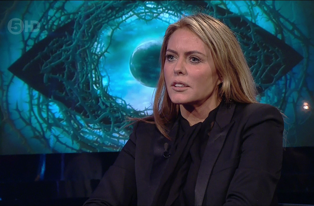 Patsy Kensit is the third celebrity to be voted out of the house on 'Celebrity Big Brother - LIve Eviction', Shown on Channel 5 HD - 27 January 2015.