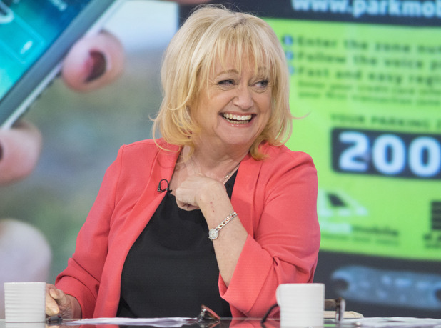 'Loose Women' TV Programme, London, Britain. - 30 Jan 2015 Judy Finnigan
