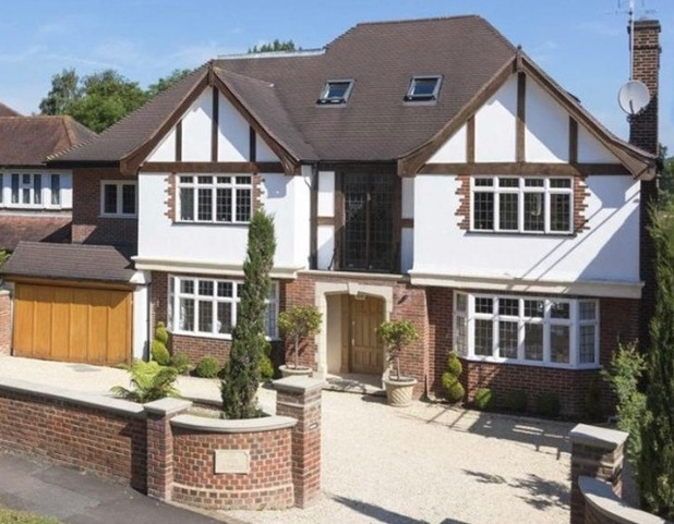 The X Factor house goes on sale in Hadley Wood, Hertfordshire, 29 January 2015
