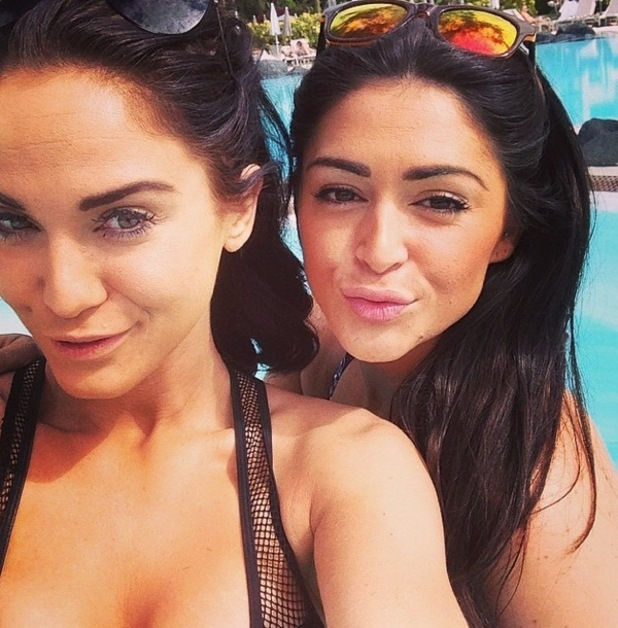Vicky Pattison shares holiday throwback with Casey Batchelor from Tenerife holiday 28 January