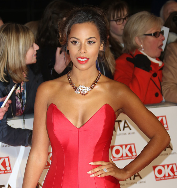 Rochelle Humes, The National Television Awards (NTA's) 2015 held at the O2 - Arrivals, 21 January 2015