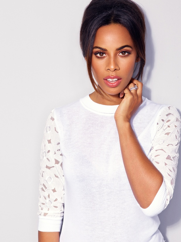 Rochelle Humes models her new Valentine's Day collection for Very.co.uk - 27 January 2015