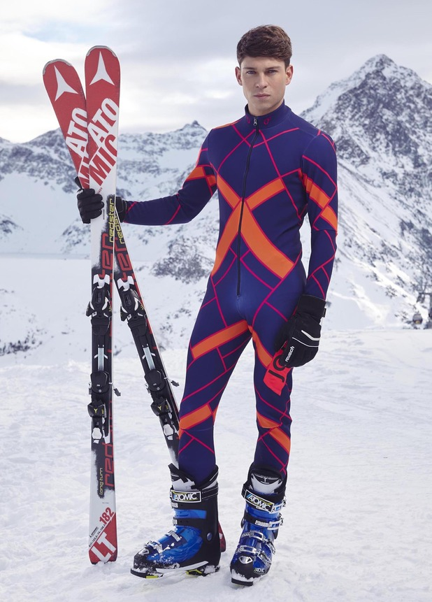 The Jump series two competitor former TOWIE star Joey Essex - February 2015.