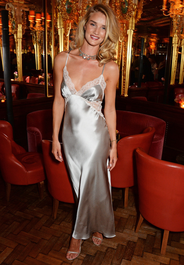Rosie Huntington-Whiteley launches her Rosie for Autograph perfume at Hotel Café Royal in London - 28 January 2015