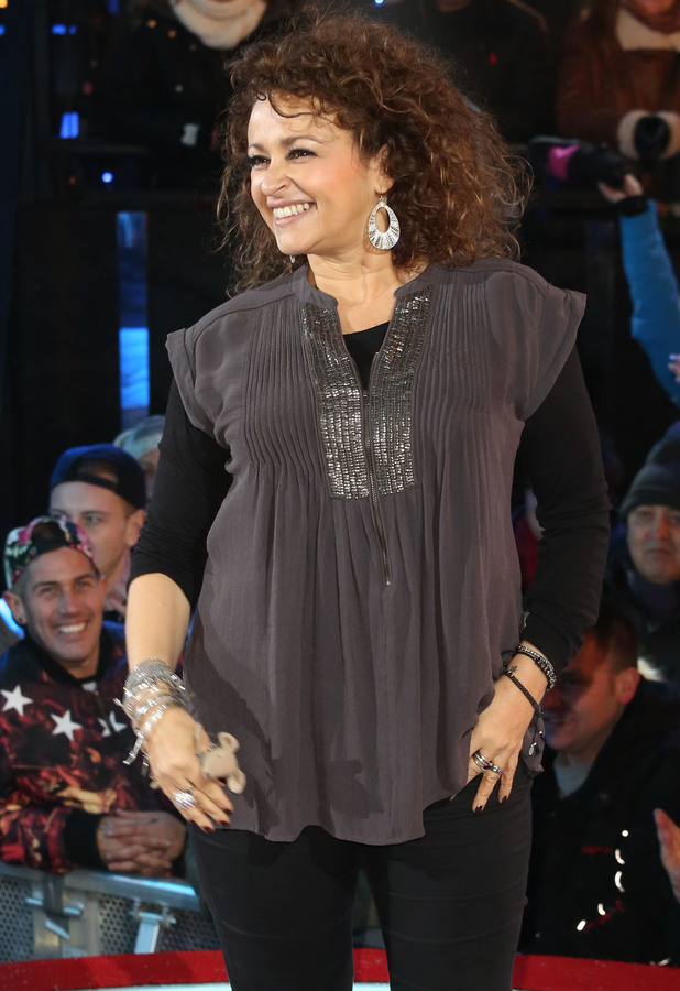 Nadia Sawalha is the fourth housemate evicted from Celebrity Big Brother 15, 30 January 2015
