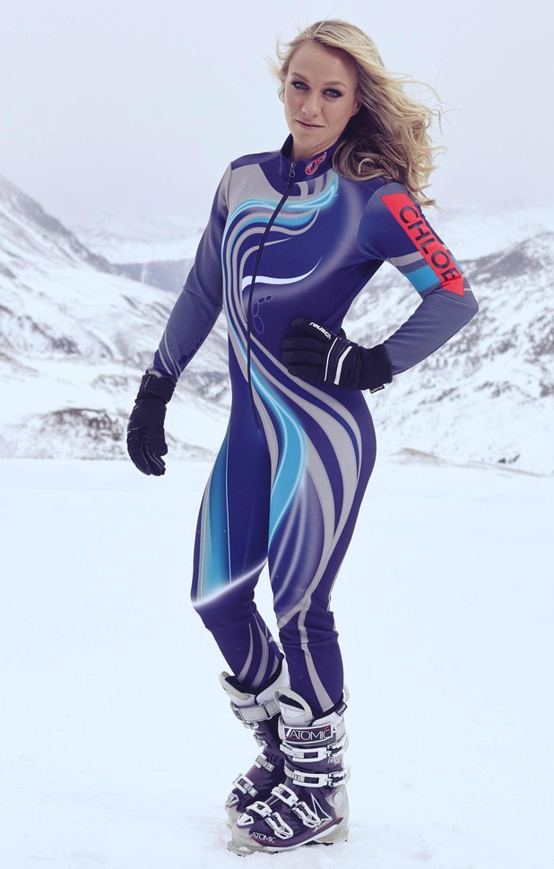 The Jump series two competitor Chloe Madeley - February 2015.