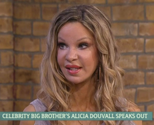 Alicia Douvall appears on ITV's This Morning after being evicted from Big Brother, 26 January 2015