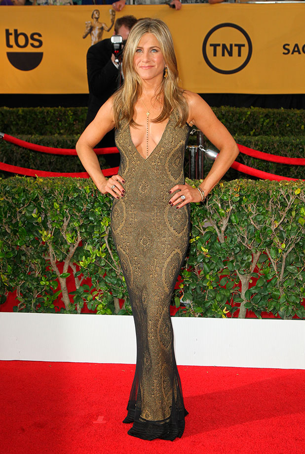 Jennifer Aniston at 21st Annual Screen Actors Guild Awards at The Shrine Auditorium, 25 January 2015