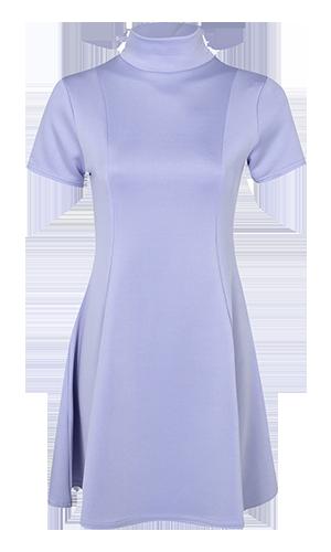 Boohoo lilac dress