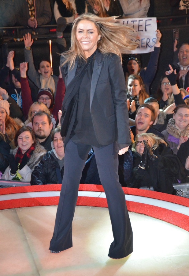 CBB: Patsy Kensit is evicted, 27 January 2015