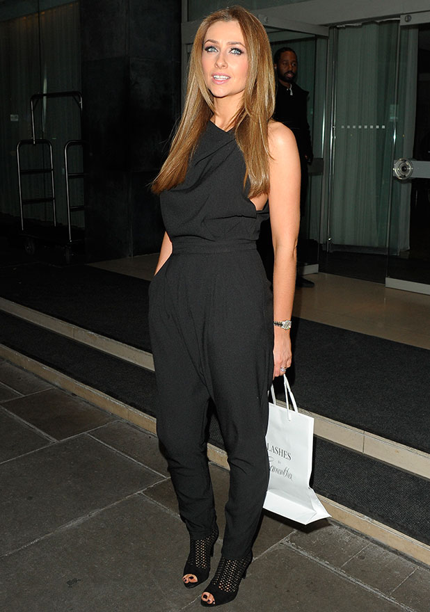 Gemma Merna at the Sanderson Hotel, 28 January 2015