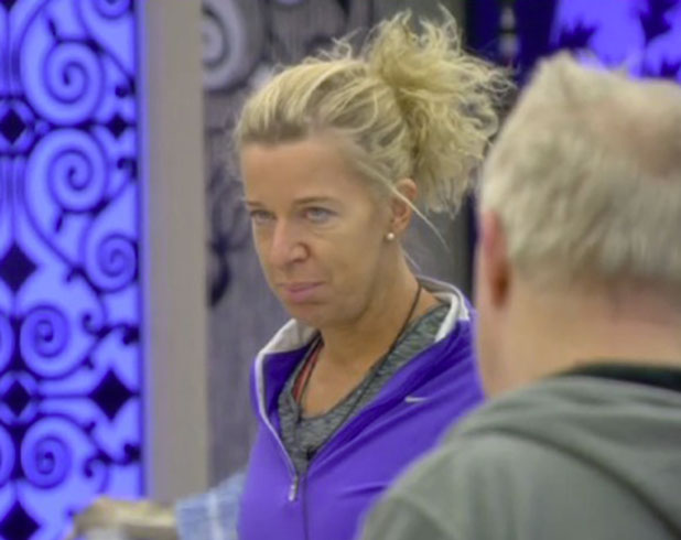 CBB: Katie Hopkins argues with Keith Chegwin, 30 January 2015