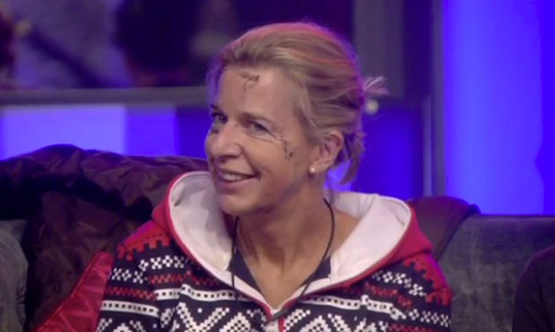 CBB: Katie Hopkins learns she's nominated for eviction. 25 January 2015