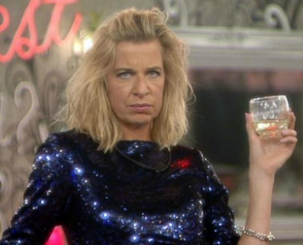 Celebrity Big Brother' TV show, Elstree Studios, Hertfordshire, Britain - 27 Jan 2015 Katie Hopkins after Perez Hilton returns to the house