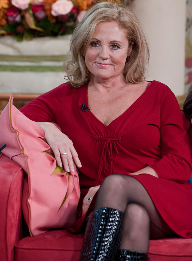 Katie Price's mum Amy in 'This Morning' TV Programme, London, Britain. - 19 Nov 2009