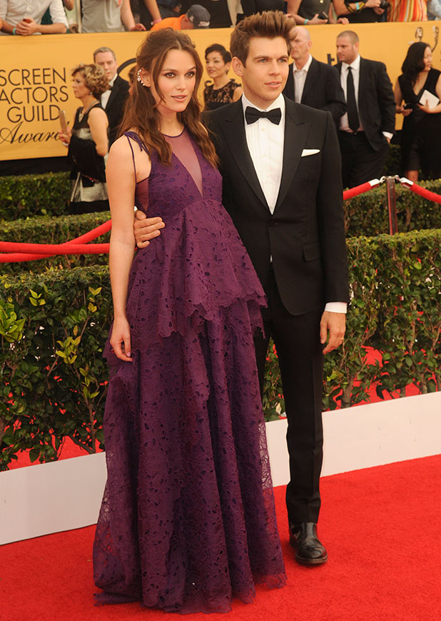 Keira Knightley at 21st Annual Screen Actors Guild Awards at The Shrine Auditorium, 25 January 2015