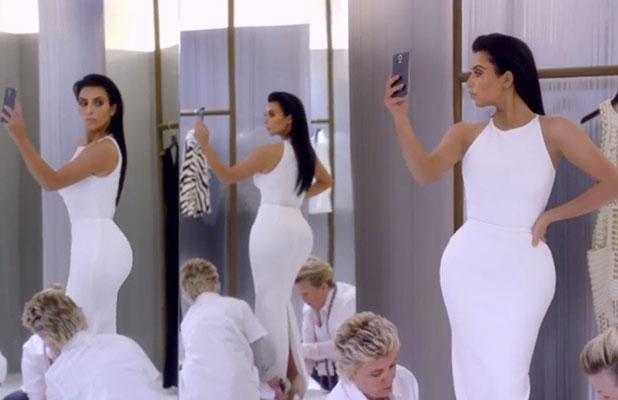 Kim Kardashian's T Mobile advert to air during Super Bowl 2015