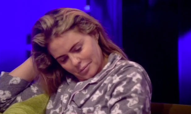 CBB: Patsy Kensit learns she's nominated for eviction. 25 January 2015