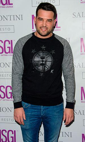 Ricky Rayment, MediaSkin Gifting Lounge at Salmontini, 19 January 2015