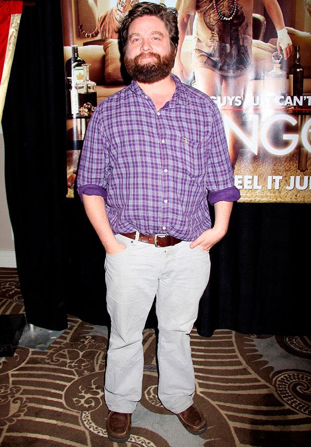 Zach Galifianakis 'The Hangover' Charity Poker Tournament at Caesars Palace Resort Casino Las Vegas, Nevada - 15.05.09