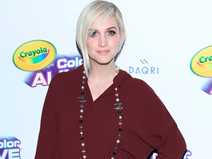 Crayola 'Color Alive' launch event hosted by Ashlee Simpson Ross, 5 February 2015