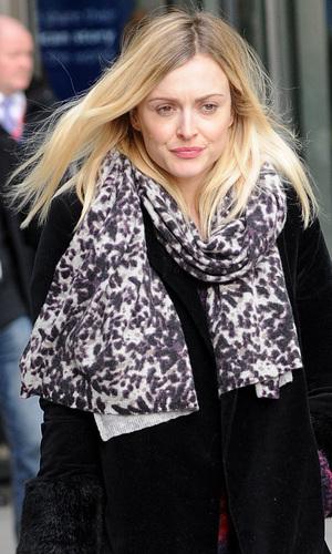 Fearne Cotton outside Radio 1, London, 2 February 2015