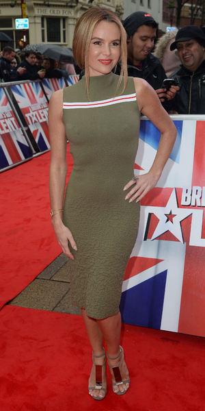 Amanda Holden attends Britain's got Talent auditions at The Birmingham Hippodrome 5 February