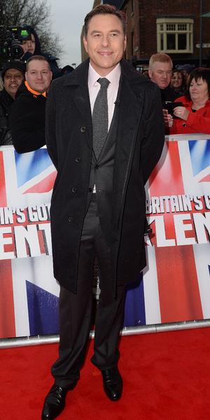 David Walliams attends Britain's got Talent auditions at The Birmingham Hippodrome 5 February