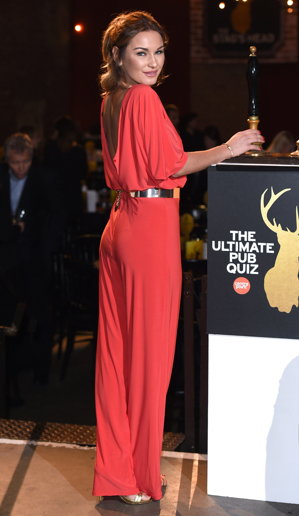 Sam Faiers attends the Centrepoint Ultimate Pub Quiz at Village Underground in London, England - 3 February 2015