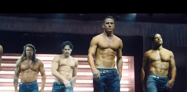 Channing Tatum appears in the new trailer for Magic Mike XXL - 4 February 2015