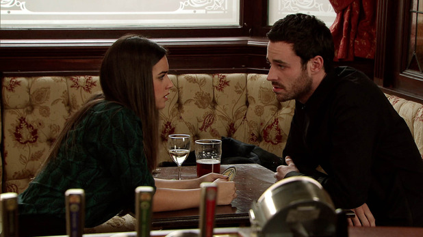 Corrie, Katy goes for a drink with Callum, Wed 4 Feb