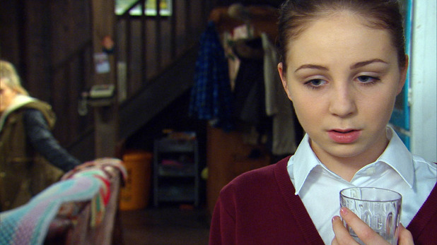 Emmerdale, Belle doesn't take her pills, Tue 10 Feb