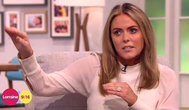 Patsy Kensit appears on ITV1's Lorraine - 5 Feb 2015