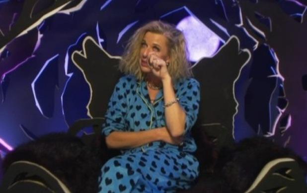 Katie Hopkins breaks down on CBB 5 February