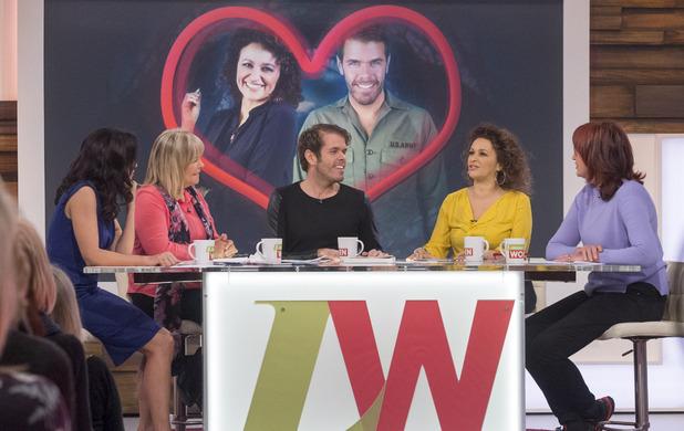 'Loose Women' TV Programme, London, Britain - 05 Feb 2015 Andrea McLean, Linda Robson, Perez Hilton, Nadia Sawalha and Janet Street-Porter