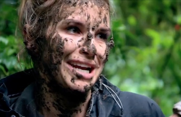Vogue Williams covered in mud: Bear Grylls - Mission Survive preview - 4 Feb 2015