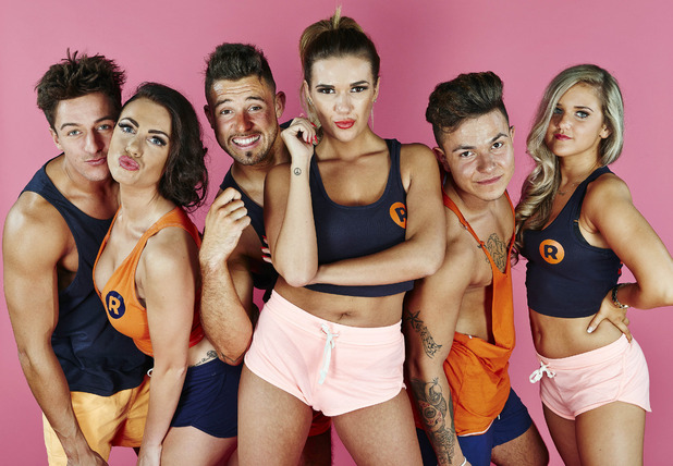 Imogen Townley and reps, The Ibiza Weekender, ITV2 8 February