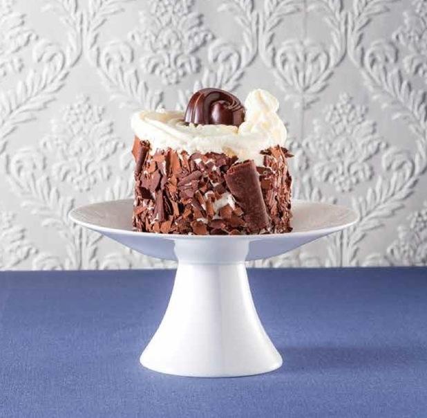 Merveilleux belgian dessert - recipe from the Godiva cookbook