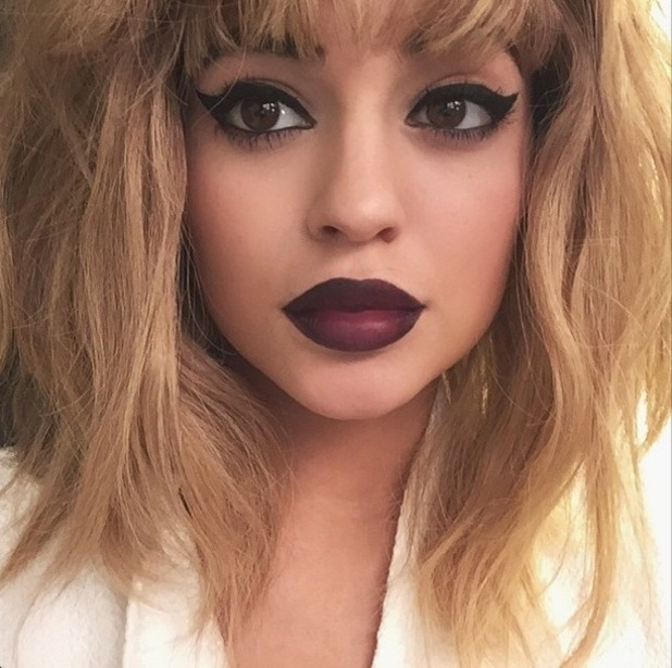 Kylie Jenner wears a blonde wig in a photo for LOVE magazine - 3 February 2015