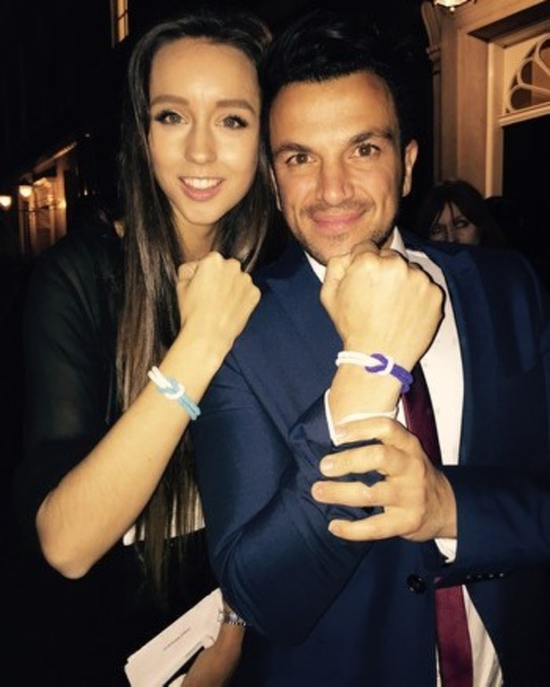Peter Andre And Emily MacDonagh Among Stars Supporting