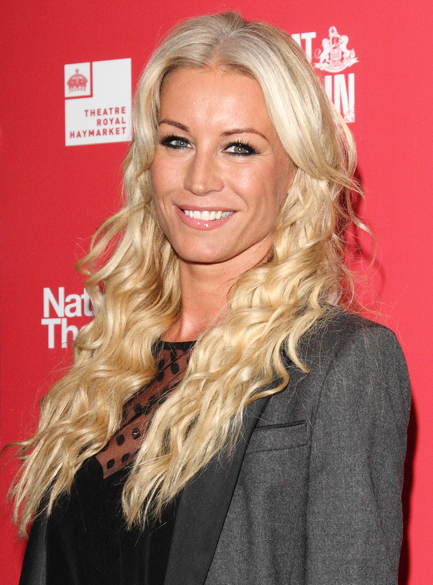Denise Van Outen at the Great Britain' opening night at the Theatre Royal Haymarket - 26/9/2015.